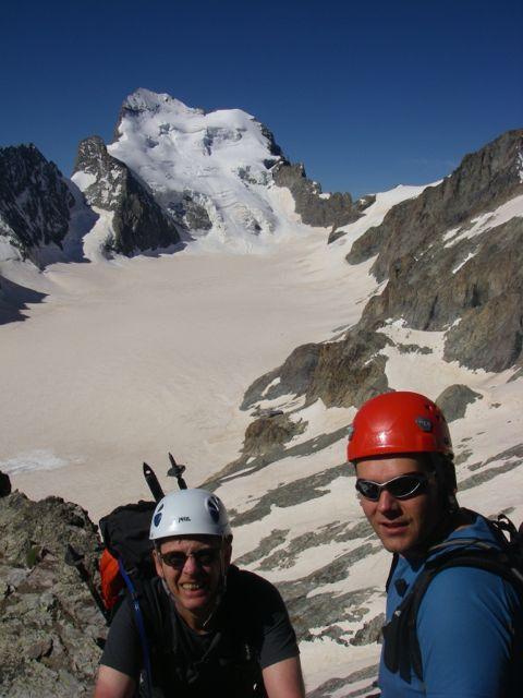vue depuis le Pic du Glacier Blanc